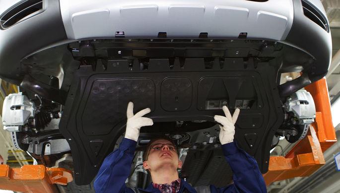 Завод Volkswagen встал на четыре дня
