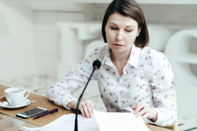 Наталия Кузнецова в редакции «Газеты.Ru»