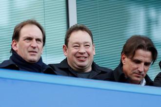 Леонид Слуцкий на матче «Челси»