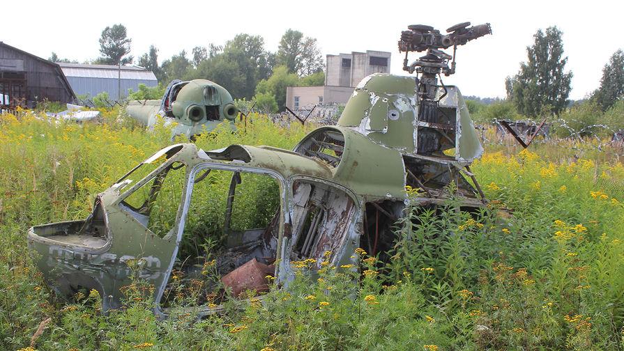 Вертолет Ми-2 разбился на Украине