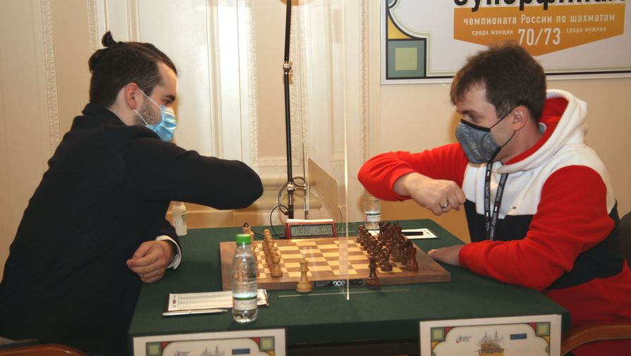 Шахматисты Ян Непомнящий и Владимир Федосеев