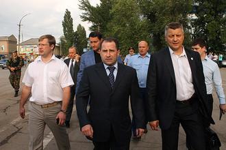 Полномочный представитель президента в ПФО Михаил Бабич второй раз приехал в город Пугачев, чтобы встретиться с местными жителями