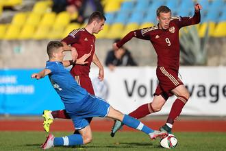 Сборная России U-19 сыграла вничью со словаками