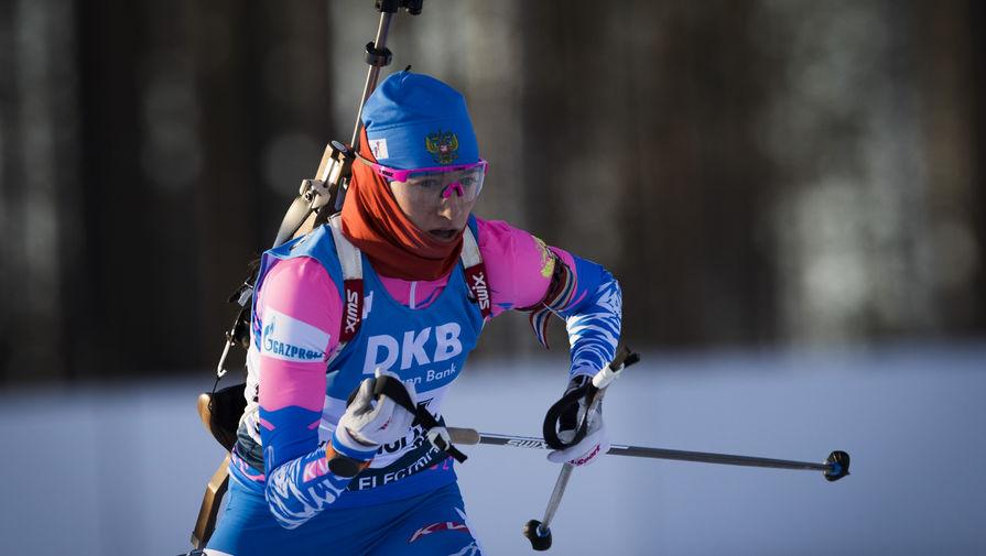 Российская биатлонистка Светлана Миронова