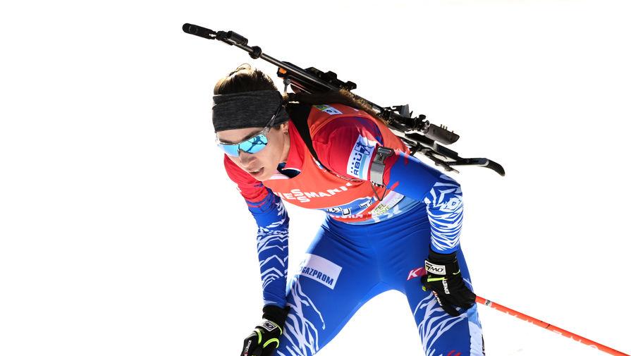 Биатлонистка Ульяна Кайшева