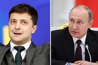 Первый контакт: как прошел разговор Путина с Зеленским