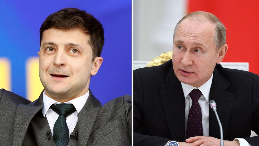 Картинки по запросу Путин и Зеленский