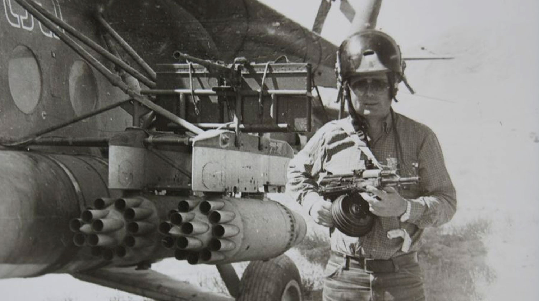 Сергей Березин в Афганистане