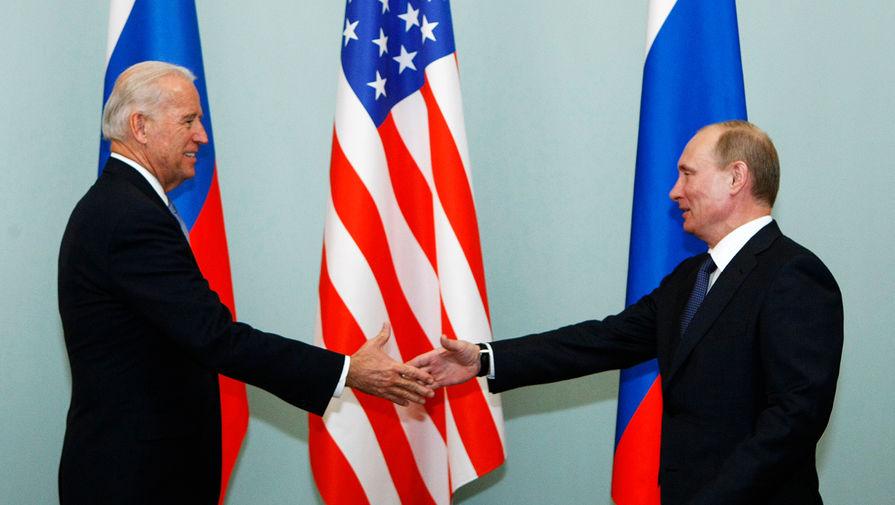 В МИДе назвали тему для обсуждения на встрече Путина и Байдена