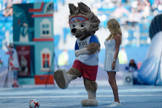 Официальный талисман чемпионата мира по футболу 2018 волк Забивака