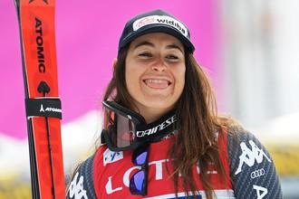 Итальянская горнолыжница София Годжа