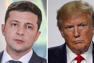 Михаил Зеленский и Дональд Трамп