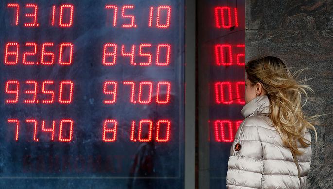 Падение с ускорением: рубль обновил четырехлетний минимум