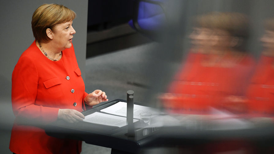 Меркель выступила СЃРїРѕСЃР»РµРґРЅРµР№ речью РІР'ундестаге