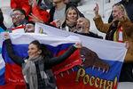 Во время отборочного матча чемпионата мира-2022пофутболу междусборными командами России и Словакии настадионе «Казань-Арена»