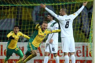 Первая же победа «Кубани» в групповом турнире Лиги Европы получилась крупной