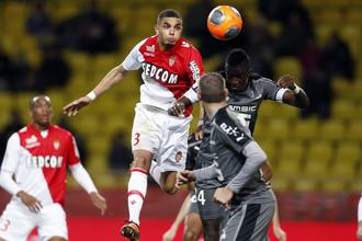 «Монако» дома обыграл «Ренн» со счетом 2:0