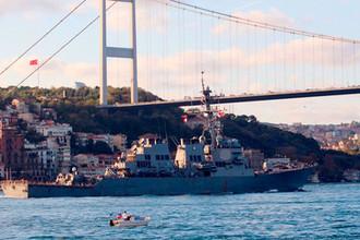 «Верность союзникам»: в Черное море вошел эсминец ВМС США