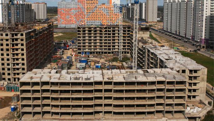 Строительство жилья вышло из серой зоны