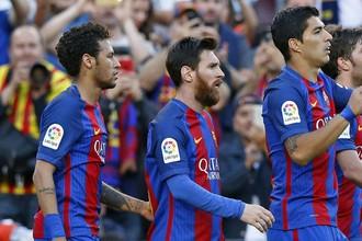 «Барселона» дома играет с «Эйбаром»