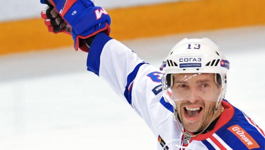 Хоккеист сборной России Павел Дацюк