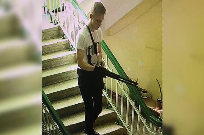 Владислав Росляков (скриншот с камеры наблюдения)