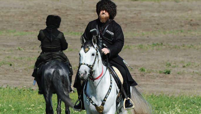 Глава Чечни Рамзан Кадыров, 2019 год