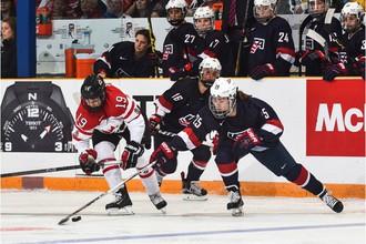 Эпизод финального матча ЧМ-2016 США — Канада