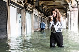 Ситуация в Венеции, 29 октября 2018 года