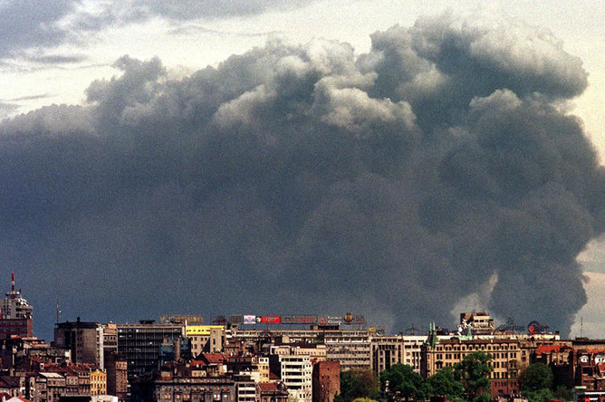 Бомбардировка Белграда, 1999 год