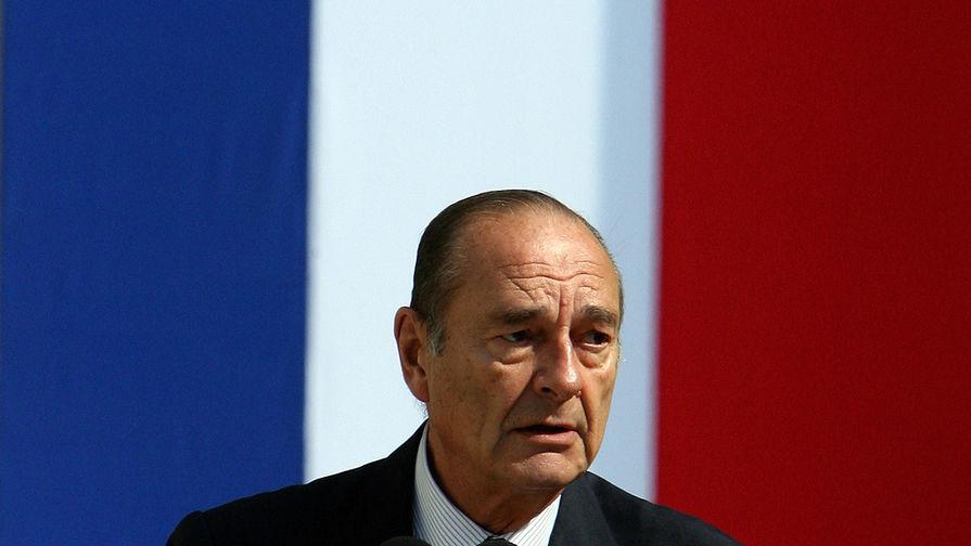 Путин выразил соболезнования в связи со смертью Жака Ширака