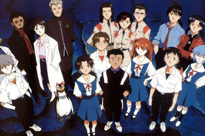 Кадр из японского анимационного сериала «Евангелион» (1995-1997)