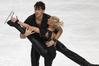 Татьяна Волосожар и Максим Траньков выиграли короткую программу в стиле рок