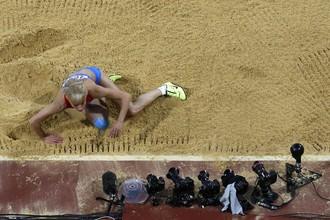 Анна Назарова заняла пятое место в прыжках в длину