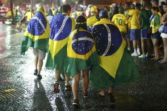 Фанаты сборной Бразилии