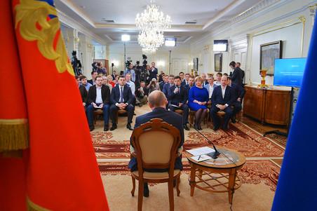Путин встретился с российскими интернет-предпринимателями