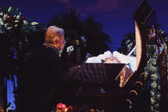Церемония прощания с актером Сергеем Юрским в театре имени Моссовета, 11 февраля 2019 года