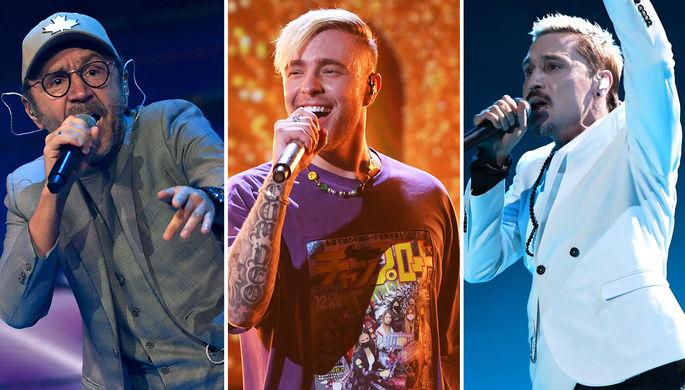 Политика, ТВ и реклама: Шнур стал самым богатым артистом страны