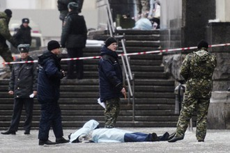 Ситуация на месте взрыва в Волгограде