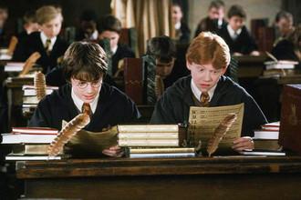 Кадр из фильма «Гарри Поттер и философский камень», 2001 год