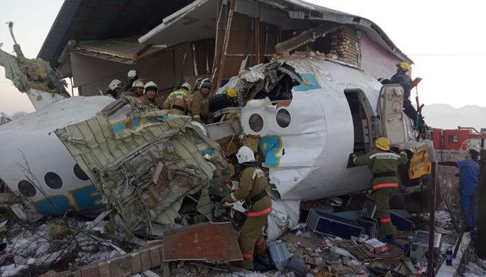 Три версии: из-за чего мог разбиться самолет в Казахстане
