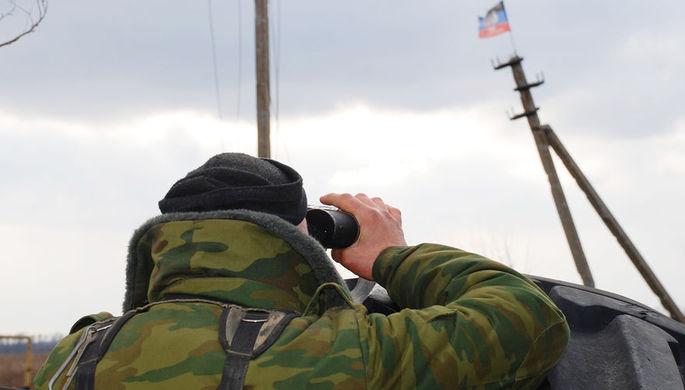 В ДНР решили превентивно стрелять по украинским позициям