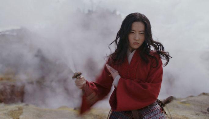 Кадр из фильма «Мулан» (2020)