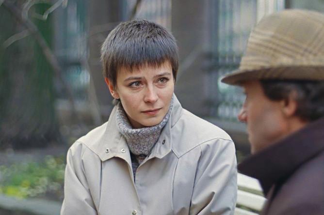 Кадр из фильма «Зимняя вишня»