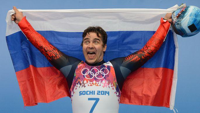 Альберт Демченко на Олимпийских играх в Сочи