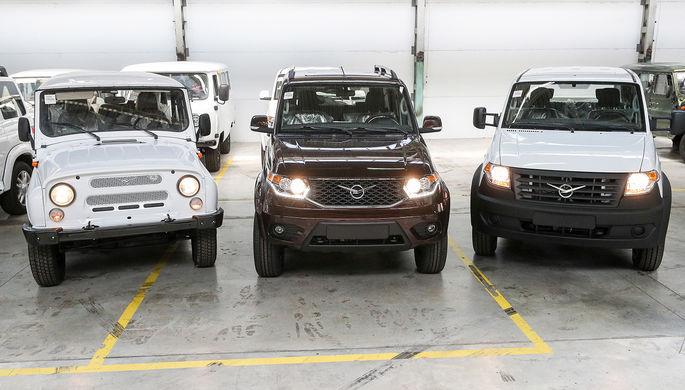 Модель для разборки: УАЗ будет производить чужие машины