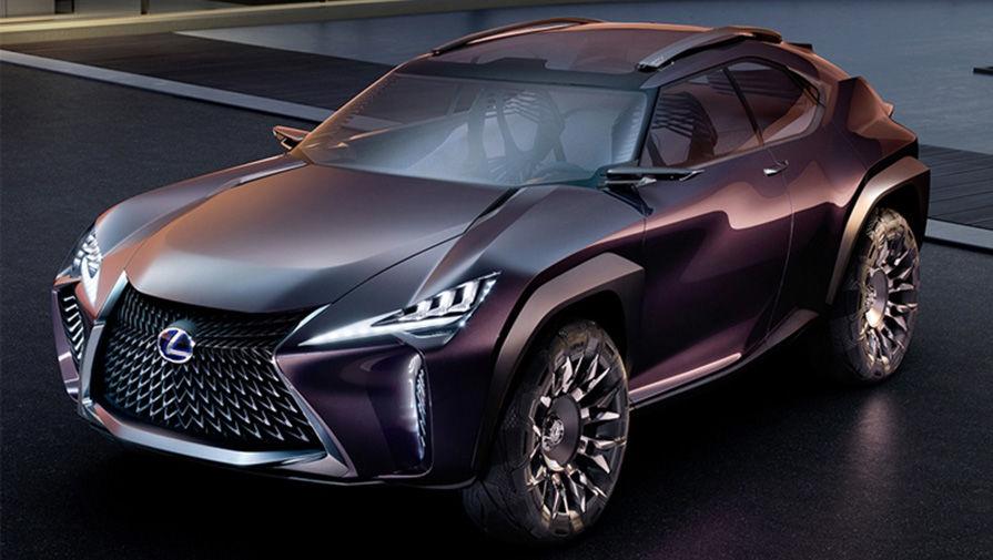 Концептуальный кроссовер Lexus UX
