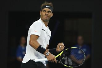 Рафаэль Надаль в финале Открытого чемпионата Австралии по теннису