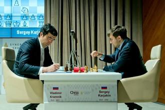 Владимир Крамник и Сергей Карякин