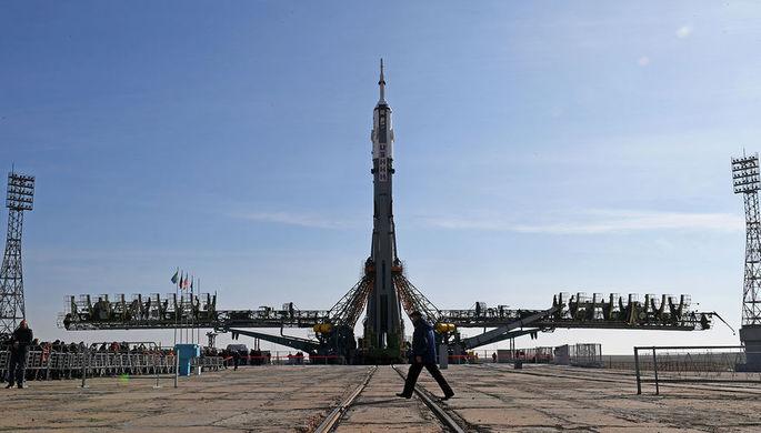 «Союз МС-12» стартовал с космодрома Байконур